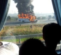 Fiery Bus Crash Outside Beijing Kills 5 Germans, 1 Chinese
