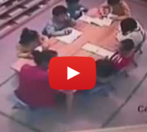 Child Abuse At Another Kindergarten: Teacher Slaps Three Children, Including A 5-Year-Old 70 Times