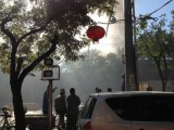 Hotpot Restaurant On Guijie Catches Fire, People Flee For Their Lives