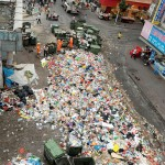 Shenzhen Neighborhood Needed A Place To Dump Garbage, So The Residents Dumped It In The Street