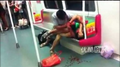 Remember The Bloodbath On Guangzhou Subway Yesterday? The Two Men Involved Are Now Totally Cool