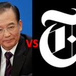 Wen Jiabao vs NY Times