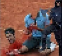 Here's The (Blurry) Picture Of A Decapitated Roger Federer, Whose Life Was Threatened By An Anonymous Chinese Blogger