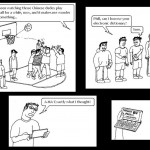Laowai Comics: Pickup Basketball With Chinese Characteristics
