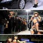 Car show in Wuhan
