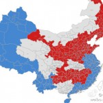 An Imagined Chinese Electoral Map, If China Were A Two-Party Democracy
