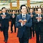 Chinese leaders do Gangnam Style