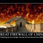Great Firewall on fire