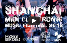 Shanghai, This Is You At This Year's MIDI Electronic Music Festival