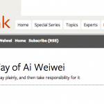 The Way of Ai Weiwei