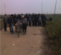 Villagers Clash With Police Over Proposed Power Plant, Flip Over Vehicles [VIDEO]