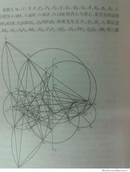High school math in China