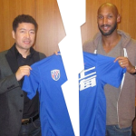 Anelka split with Shanghai