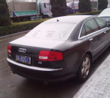 Picture Of The Day: If You Drive An Audi, People Will Think You're A Corrupt Official