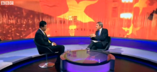 BBC Newsnight with Chinese ambassador