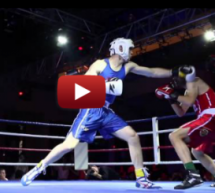"Highlights From ""Brawl On The Wall,"" Charity Boxing In Beijing"