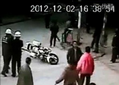 Police Stand Around And Watch While Gangsters Carry Out Brutal Assault