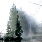 Chinese Artist Tries To Blow Up Christmas Tree, Tries And Tries Again