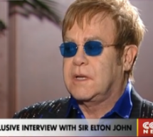 Elton John Gave CCTV An Exclusive Interview For World AIDS Day