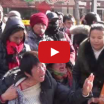 Watch: Henan HIV/AIDS Petitioners Gather Around Ministry of Civil Affairs In Beijing