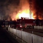 A Beijing IKEA Construction Site Went Up In Flames Last Night