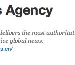 Xinhua's Twitter