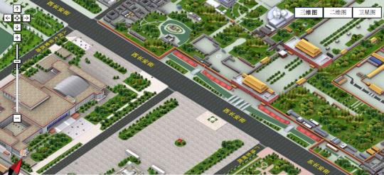 Beijing 3D map