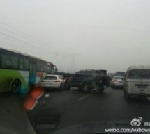 Be Careful On Beijing&#8217;s Roads Today: Icy Conditions Caused A 100-Car Pileup This Morning