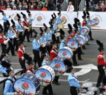 Chinese Band Marches In Rose Bowl Parade