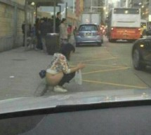 This Woman In Macau Will Do Her Business On The Curb, And What Are You Gonna Do About It? Take A Picture?
