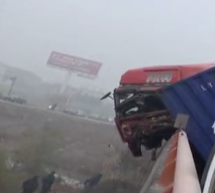 "And Now Hangzhou's ""Fog"" Has Caused A Traffic Accident: 2 Dead, 8 Injured In 20-Car Pileup"