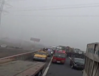 Fog caused Hangzhou highway accident