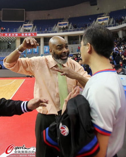 Gary Gaspard Tianjin vs Qingdao post-game 5