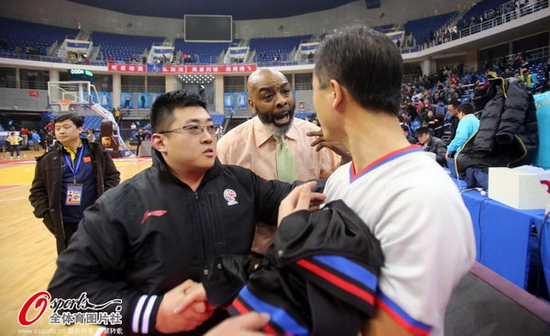 Gary Gaspard Tianjin vs Qingdao post-game 6