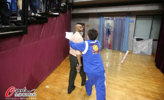 Gary Gaspard Tianjin vs Qingdao post-game 7