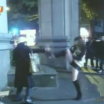 Hot Chick In Guangzhou Neutralizes Blade-Wielding Madwoman With One Swift, Awesome Kick