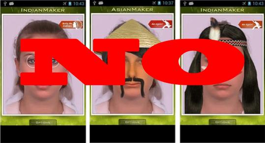Make Me Asian App NO