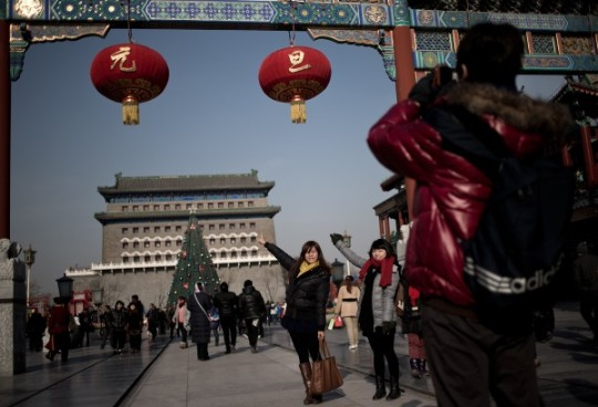 New Year at Qianmen