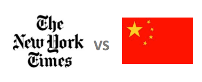 The New York Times vs China