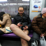 No Pants Subway Ride Shanghai