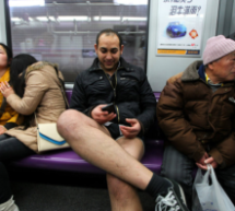 "Your First Look At ""No Pants Subway Ride"" Shanghai 2013"
