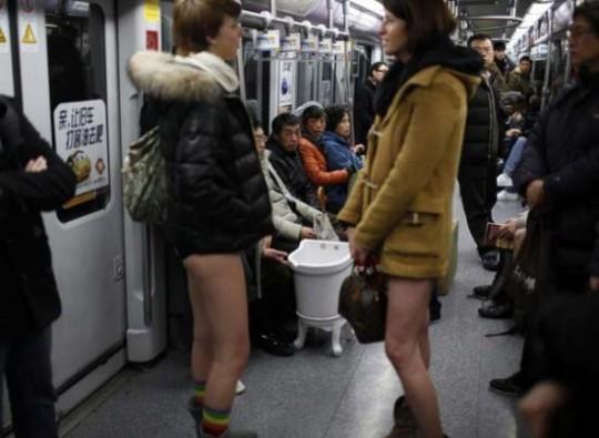 No Pants Subway Ride 3