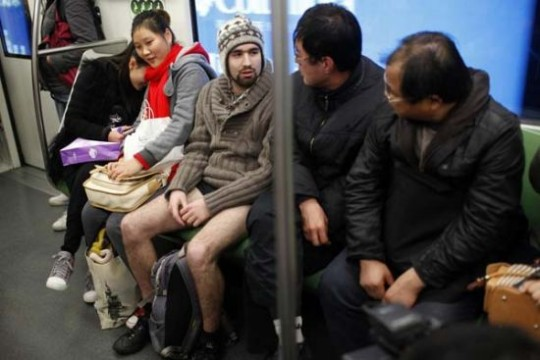 No Pants Subway Ride 5