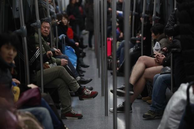No Pants Subway Ride 8