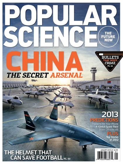Popular Science China cover