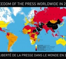 China Rises One Spot In Latest Reporters Without Borders Press Freedom Index, Ranks 173 Out Of 179