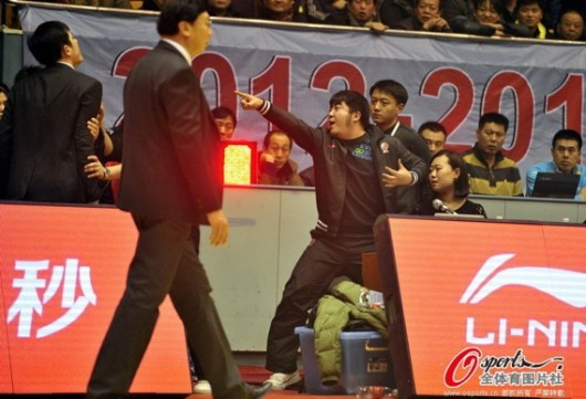 Shandong DJ taunts Qingdao coach