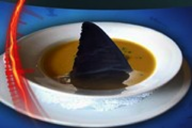 Shark fin soup