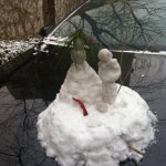 Picture Of The Day: Snow Sculpture