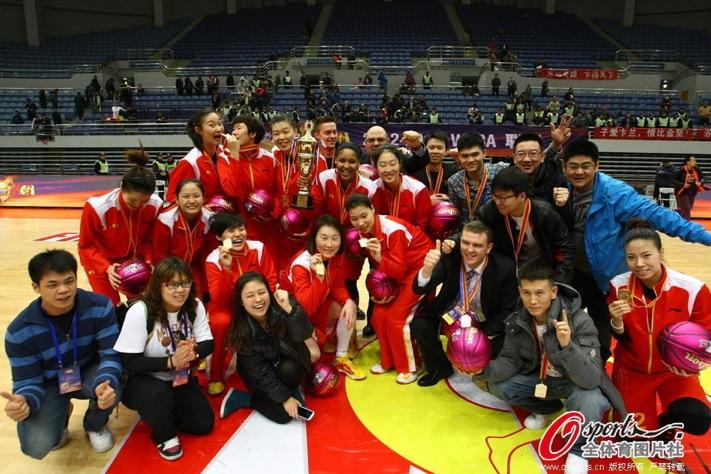 Shanxi Flame, 2012-13 WCBA champions